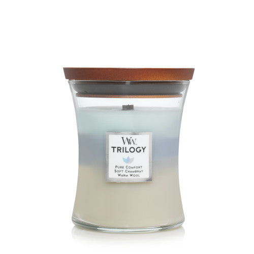 Candle Jar Woodwick Trilogy Woven Comforts