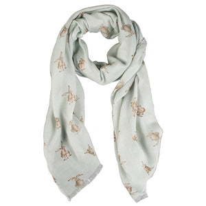 Scarf Wrendale Leaping Hare