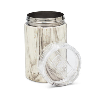 Bevi Insulated Tumbler - Marble Look