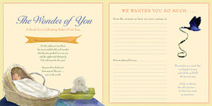 The Wonder of You - Milestone Baby Book