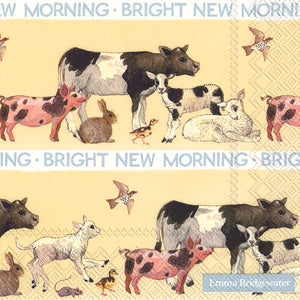 Napkins Paper Bright New Morning