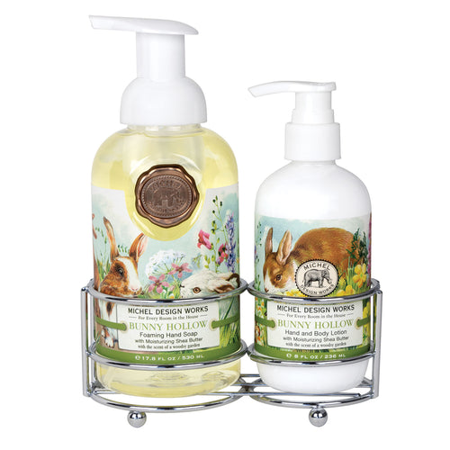 Caddy Soap/Lotion Bunny Hollow