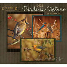 Load image into Gallery viewer, Delafield Calendar Birds in Nature