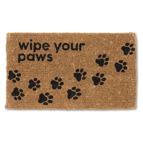 Door Mat Wipe Your Paws