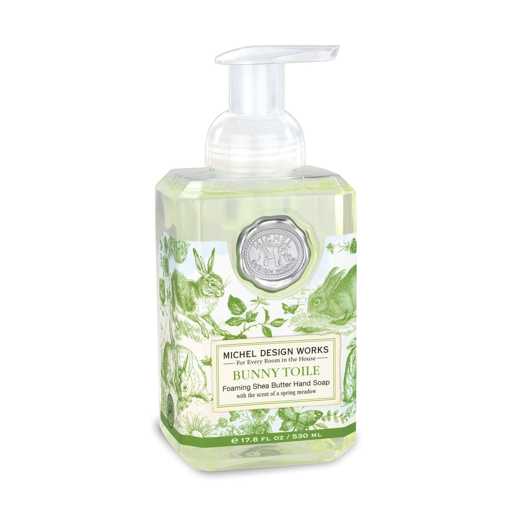 Foaming Hand Soap Bunny Toile