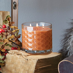 Root Mulled Cider 3 Wick Honeycomb Candle