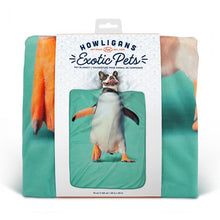 Load image into Gallery viewer, Howligans Exotic Pet Blanket Penguin