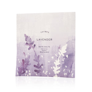 Lavender Foaming Bath Salts Envelope