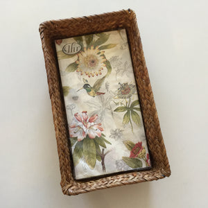 Seagrass Basket Napkin Holder