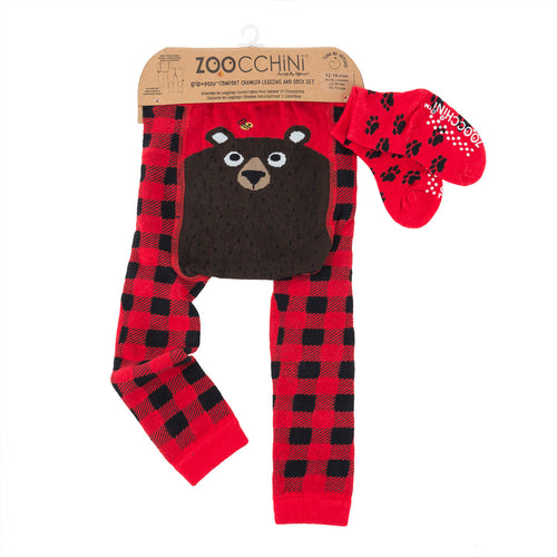Legging & Sock Set Bosley Bear