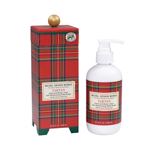 Michel Design Works Tartan Hand and Body Lotion
