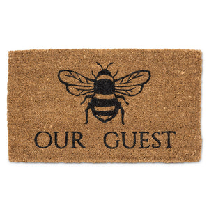 Mat Coir Bee Our Guest