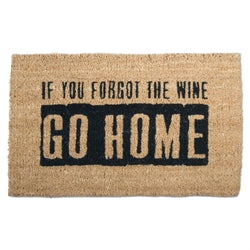 Tag If You Forgot the Wine Coir Mat