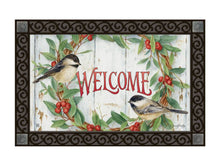 Load image into Gallery viewer, MatMate Chickadee Wreath