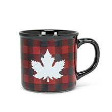 Load image into Gallery viewer, Abbott Maple Leaf Check Mug