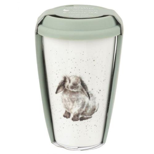 Wrendale Travel Mug Rosie Rabbit