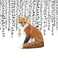 Load image into Gallery viewer, Wilderness Fox Paper Napkins