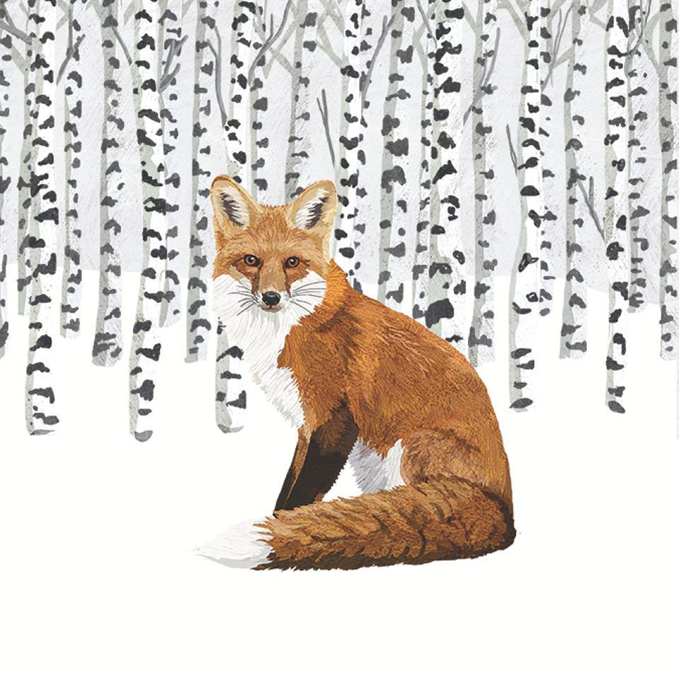 Wilderness Fox Paper Napkins