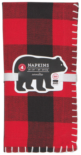 Buffalo Check Napkins