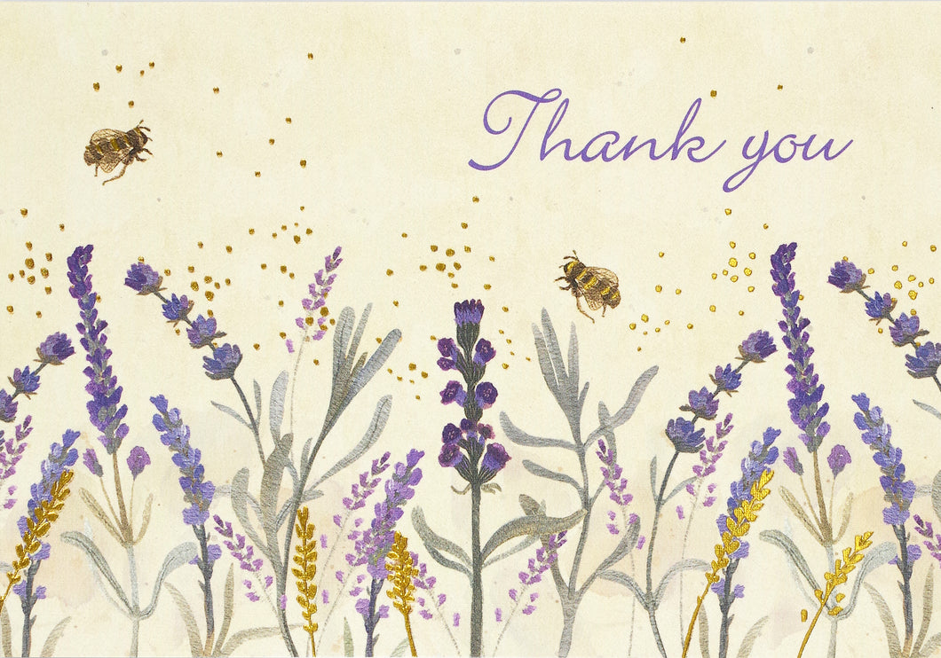 Notecards Lavender & Honey