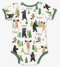 Load image into Gallery viewer, May the Forest be With You Onesie