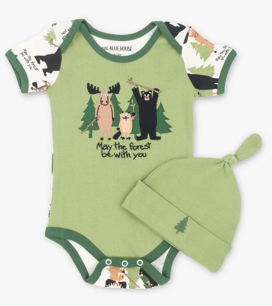 May the Forest be With You Onesie