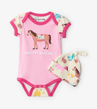 Load image into Gallery viewer, Country Liviing Pasture Bedtime Onesie
