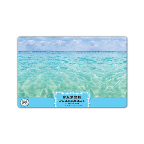Michel Design Works Beach Paper Placemats