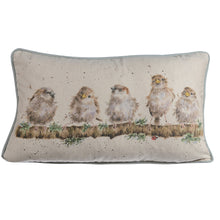 Load image into Gallery viewer, Wrendale Chirpy Chaps Rectangular Cushion