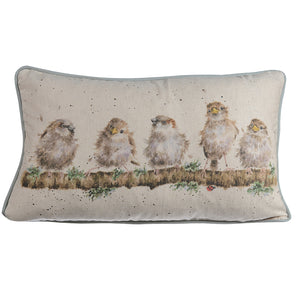 Wrendale Chirpy Chaps Rectangular Cushion