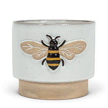 Load image into Gallery viewer, Embossed Bee Planter