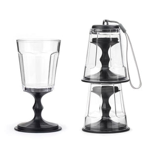 Kikkerland Portable Wine Glasses