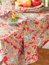 Load image into Gallery viewer, Tablecloth Rhapsody Paisley