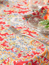 Load image into Gallery viewer, Rhapsody Paisley Tablecloth