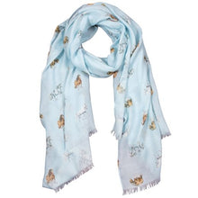 Load image into Gallery viewer, Wrendale Feathers & Forelock Scarf