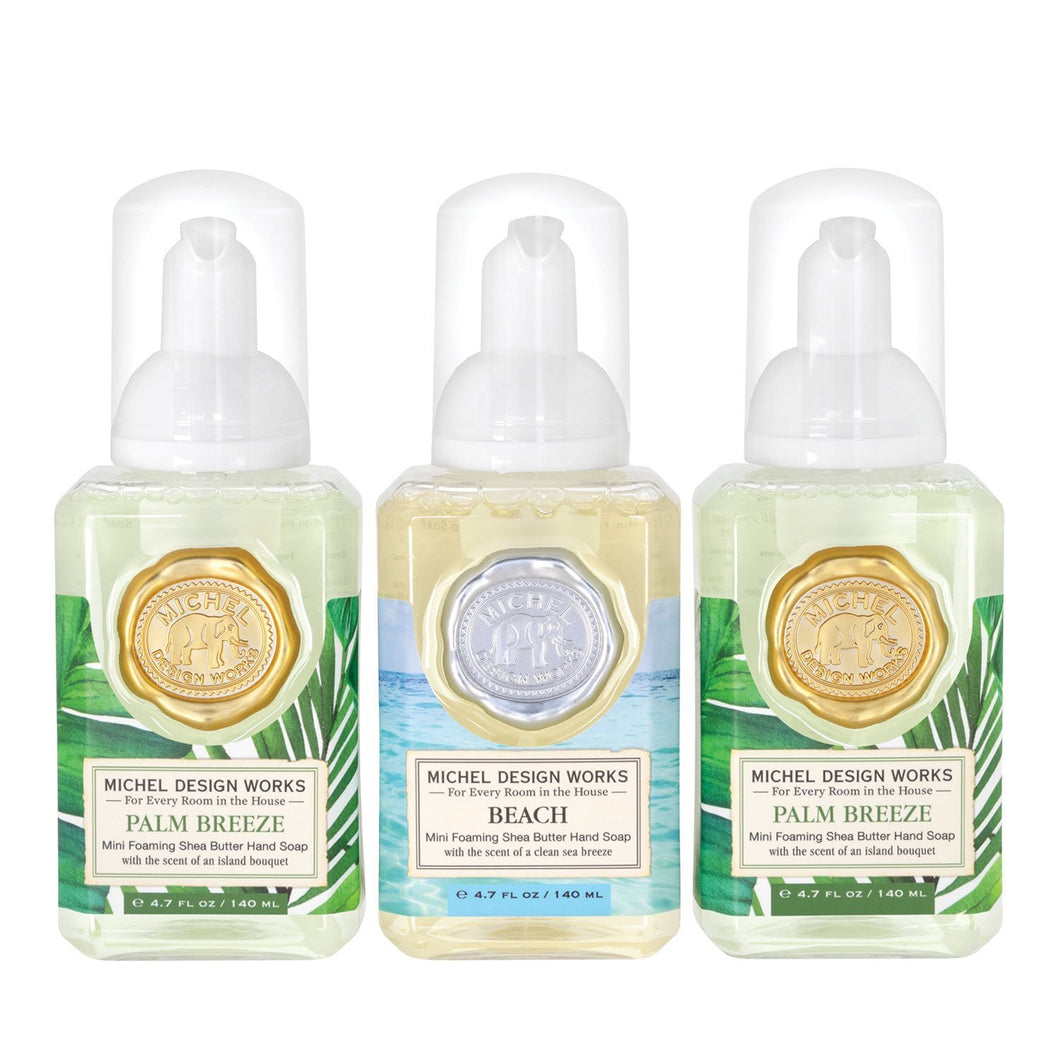 Foaming Soap Trio Palm Breeze