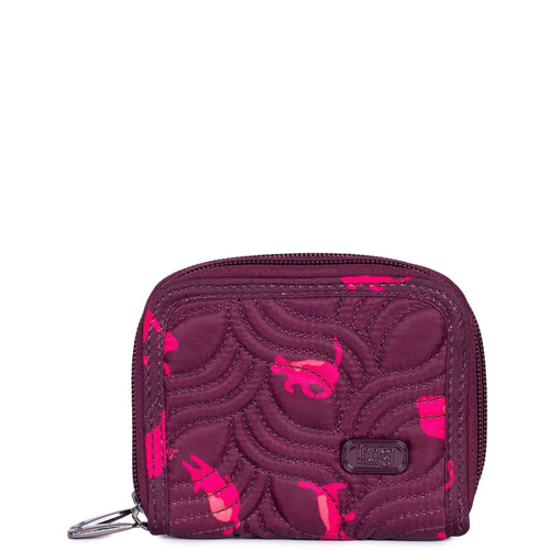 Lug Splits Wallet Cats Orchid