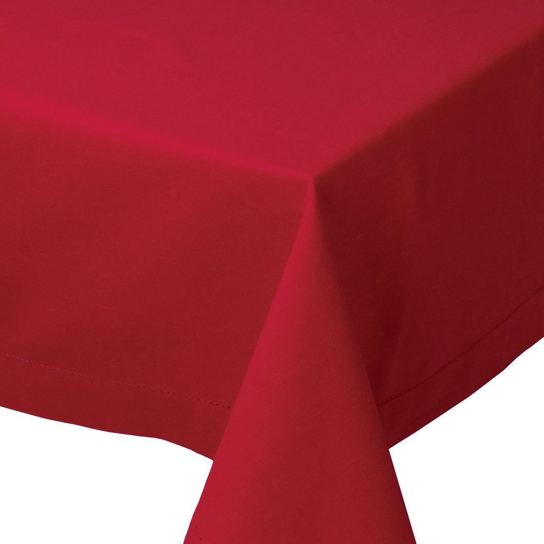 Chili Hemstitch Tablecloth