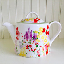 Load image into Gallery viewer, Queens Painted Garden Teapot