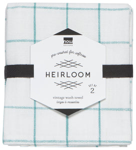 Danica Teatowel Set Heirloom Lagoon