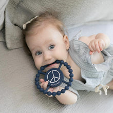 Load image into Gallery viewer, Imagine Peace Happy Teether