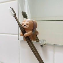 Load image into Gallery viewer, Toothbrush Holder Sloth