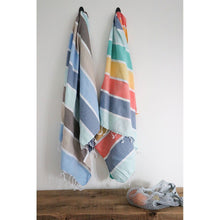 Load image into Gallery viewer, Turkish Towel Thick Stripe Duo