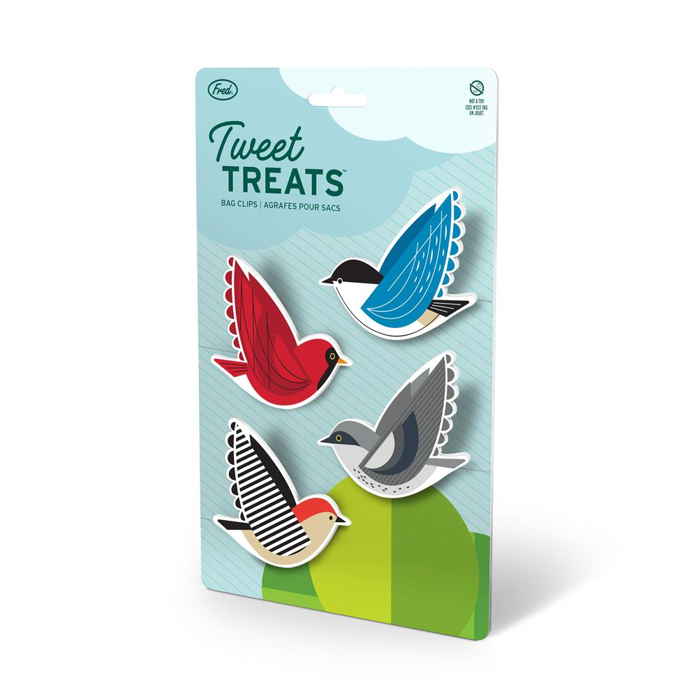 Fred Tweet Tweats Bird Bag Clips