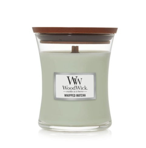 Woodwick Candle Jar Whipped Matcha
