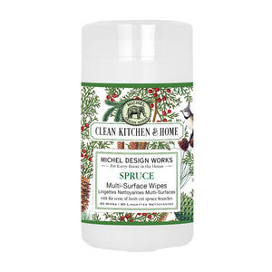 Michel Design Works Spruce Multi-Surface Wipes
