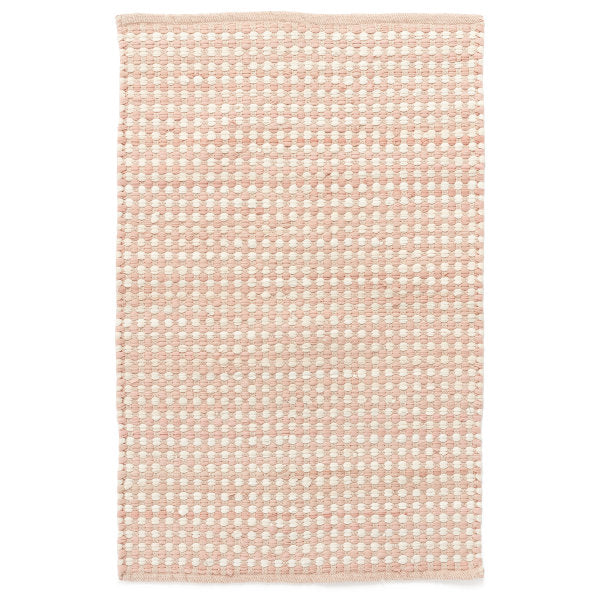 Woven Rug Raggedy Pink