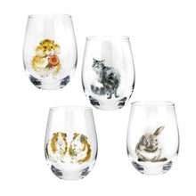 Load image into Gallery viewer, Wrendale Tumbler Glass Set