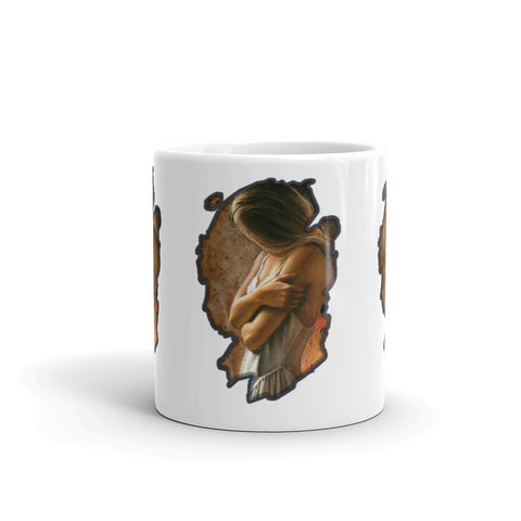Female Native American - Mug - ArtOnAll