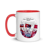 Thank you Defenders - Mug with Color Inside - Thank You First Defenders / Responders